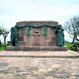 Monument aux motes Biarritz